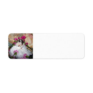 Bride Trudy Address Label