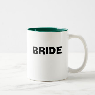 BRIDE Two-Tone COFFEE MUG