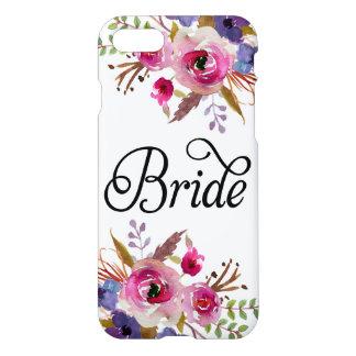 Bride Vintage Floral Modern Zazzle iPhone 7 Case