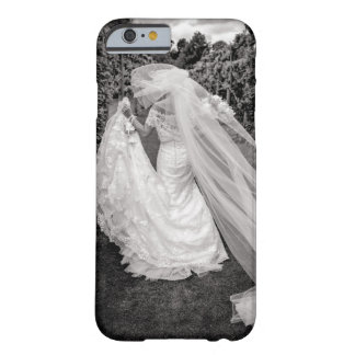 Bride Wedding Black & White Photo iPhone Cover