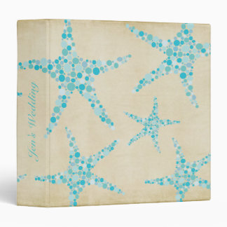 Bride Wedding Planner Aqua Starfish Binder