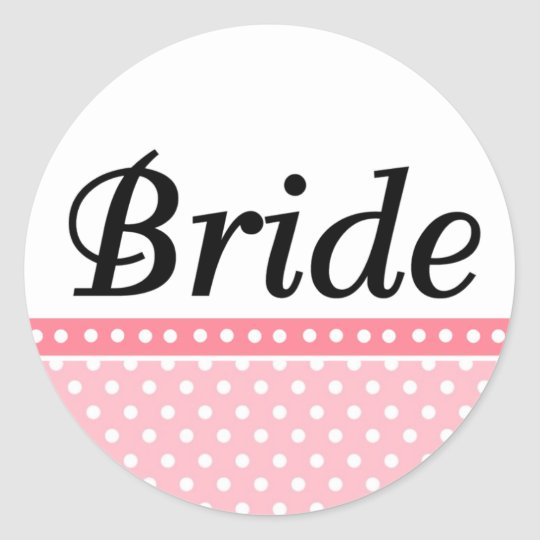 Bride Wedding Stickers