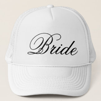 Bride Wedding Trucker's Hat