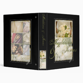 Bride with Bouquet Inspired 3 Ring Binders