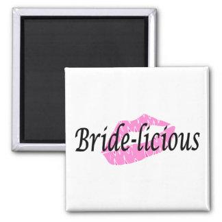 Bridelicious Square Magnet