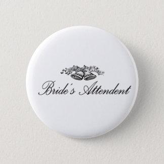 Brides Attendent Button