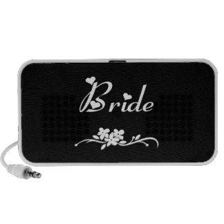 Brides Champagne Toast Notebook Speaker
