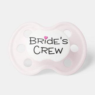 Brides Crew Pacifier