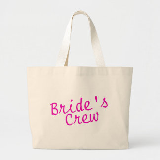Brides Crew Pink Tote Bags