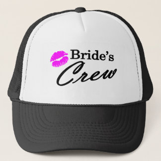 Brides Crew Trucker Hat