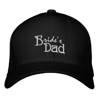 Bride's Dad Embroidered Hat