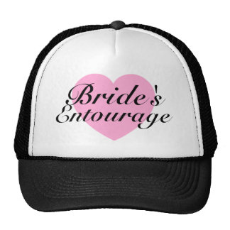 """Bride's Entourage"" Bachelorette Party Hat"