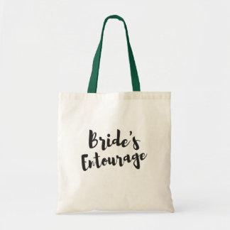 Bride's Entourage Bridal Party Tote Wedding Bag