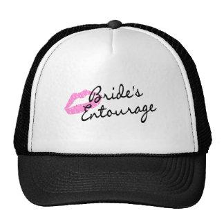 Brides Entourage Lips Trucker Hat