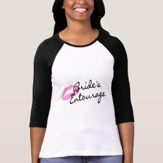 Brides Entourage Lips Tees