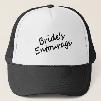 Bride's Entourage Trucker Hat