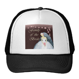 Bride's family wedding tshirts and gears hat