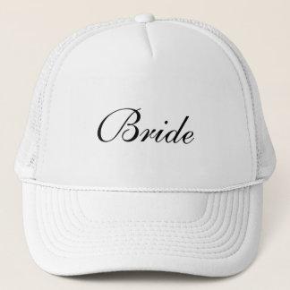 Bride's Formal Black and White Cap