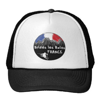 Brides les Bains France skier Trucker Hat
