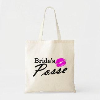 Brides Posse Tote Bag