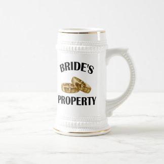 Bride's Property Beer Stein