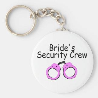 Brides Security Crew (Handcuffs) Keychain