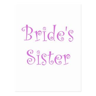 Bride's Sister Postcard