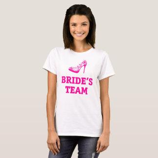 Bride's Team T-Shirt