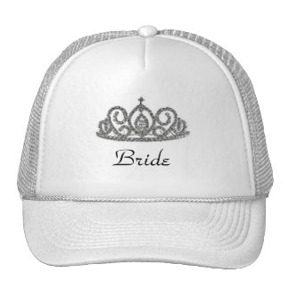 Bride's Tiara Trucker Hat