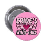 Bride's Wing-Girl Bachelorette Party Pin