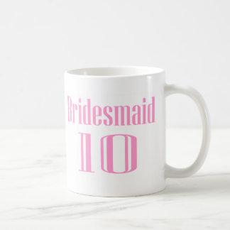 Bridesmaid 10 mug