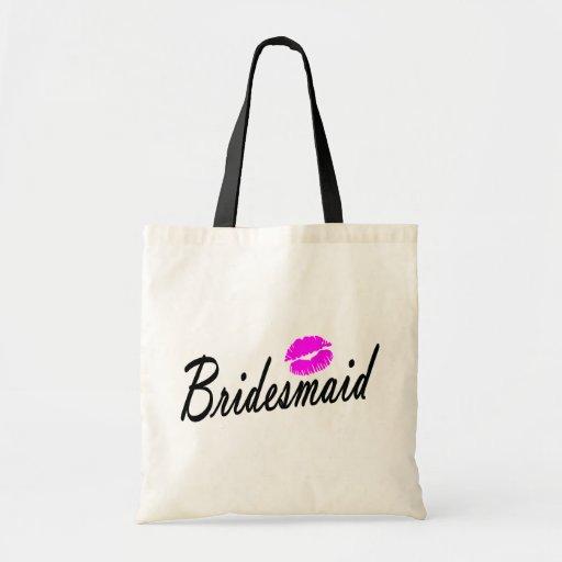 Bridesmaid Canvas Bags
