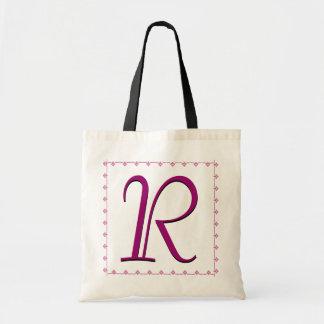 Bridesmaid Bag - MAGENTA Monogram