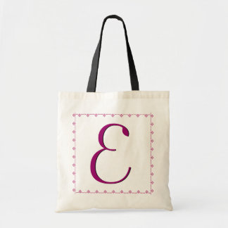 Bridesmaid Bag - MAGENTA Monogram