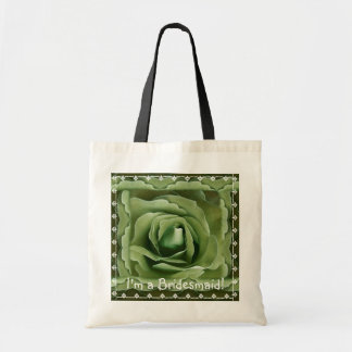 Bridesmaid Bag - OLIVE DREAMS Rose with Lace