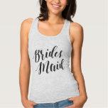Bridesmaid Black Script Shirt
