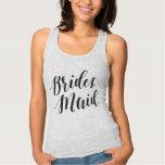 Bridesmaid Black Script Shirt