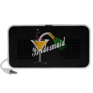 Bridesmaid Champagne Toast Travelling Speaker