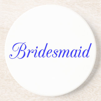 Bridesmaid Coaster