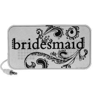 Bridesmaid Doodle Speakers