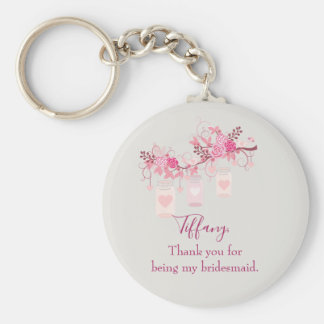 Bridesmaid Favour Gift Keychain