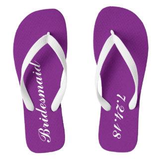 Bridesmaid Flip Flops