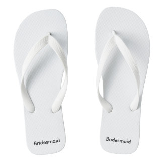 Bridesmaid flipflops