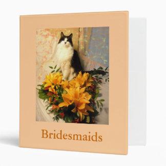 Bridesmaid Flowers Binder