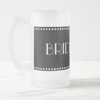 Bridesmaid Frosted Mug