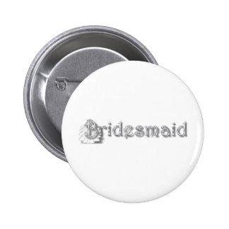 ♥ Bridesmaid ♥Fun for Bachlorette Party Shower♥ Button