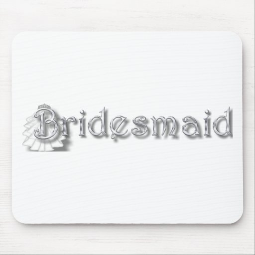 ♥ Bridesmaid  ♥Fun for Bachlorette Party, Shower♥ Mouse Pads