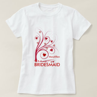 Bridesmaid Gift - Personalized Sweetheart T-shirt