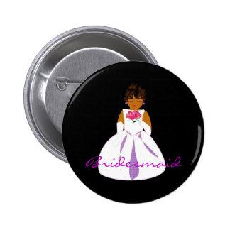 Bridesmaid II Button - Customizable Pin