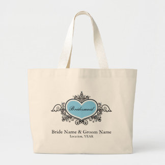 Bridesmaid Jumbo Tote Bag